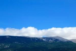 Ventoux blue sky