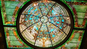 4 stained glass ceiling